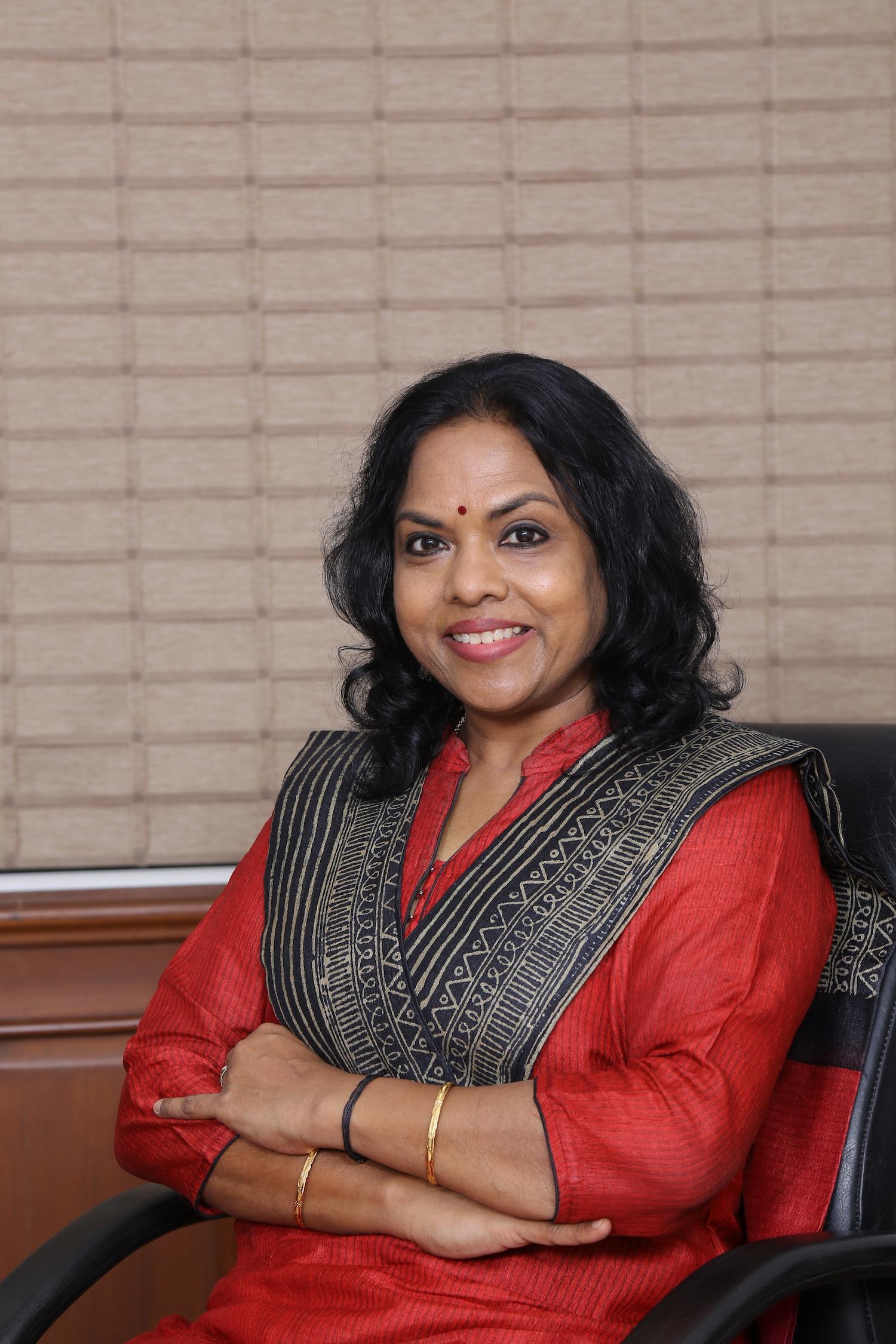 SSN President Ms. Kala Vijayakumar